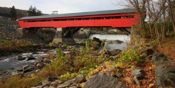 Covered bridge at Taftsville, Vermontct 16 WedIMG_5309acisf