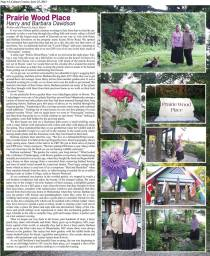 Sample of how we do our garden story each week in the summer. Full page and in color.