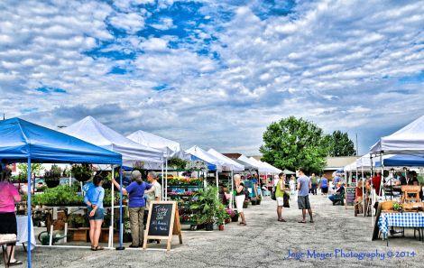 Farmers market by Joyce Meyersf