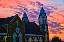 St. Lukes Church was the backdrop for events last weekend at St. Lucas Fun Days