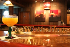 The White House bar in St. Lucas