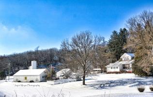 Kleve's Winter Scene by Joyce Meyer