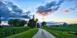 a farm sunset Frank Hageman's winneshiek coIMG_1984e-1