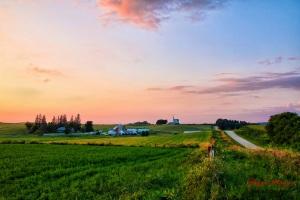 Carlton Kjos farm and Madison Church where he and his wife worshipIMG_9923-1