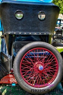 back of vintage Chevrolet