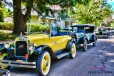 vintage Chevrolet from 1918-1928 lined the streets of Spillville